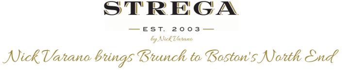strega ristorante brunch logo