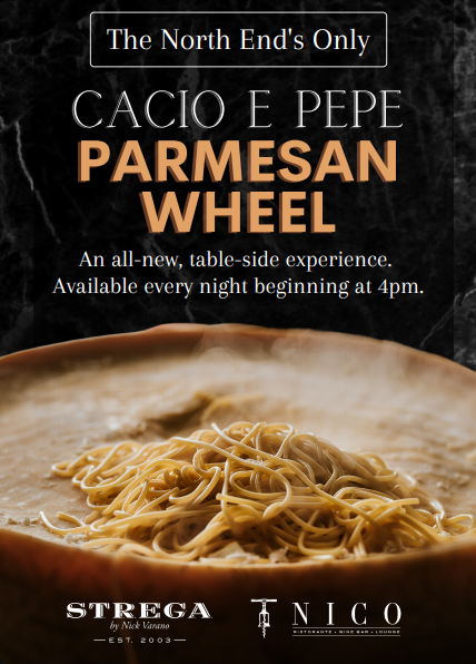 parmesan wheel announcement