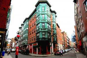 north end Boston streets